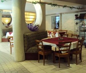 Restaurant Yuan, salle à manger